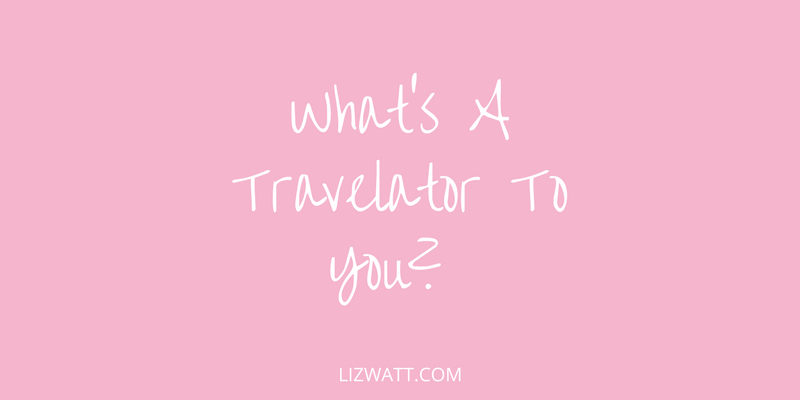 What's A Travelator To You?