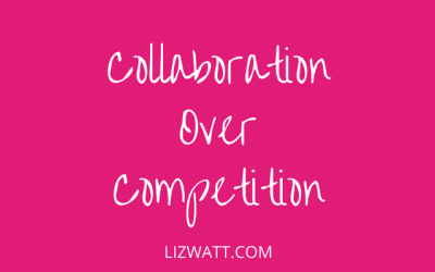 Collaboration Over Competition