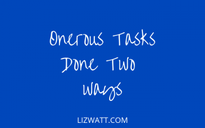 Onerous Tasks Done Two Ways