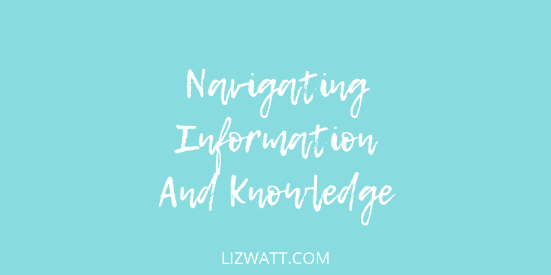 Navigating Information And Knowledge