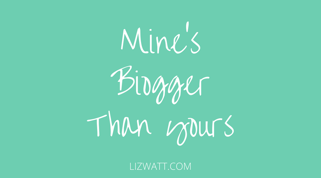 Mine's Bigger Than Yours