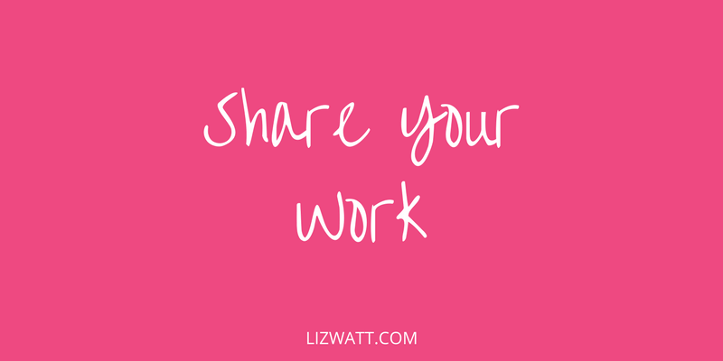 Share Your Work