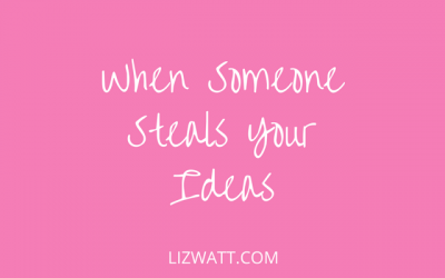 When Someone Steals Your Ideas