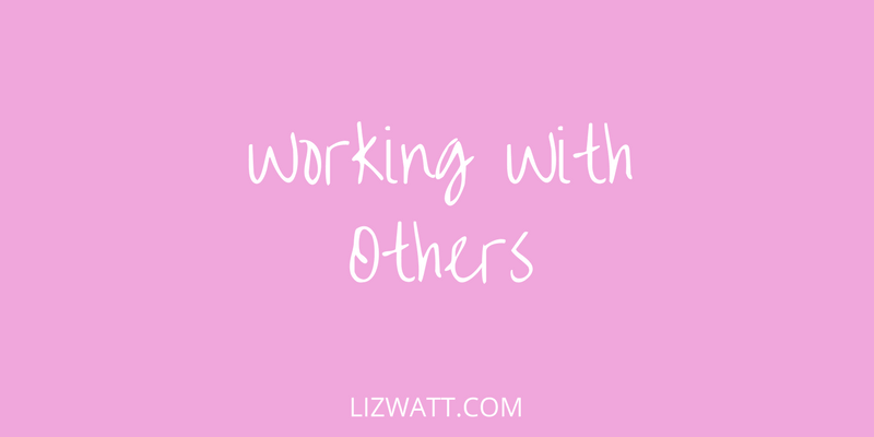 Working with Others…