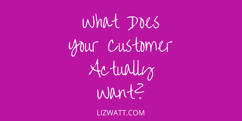 What Does Your Customer Actually Want?