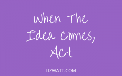 When The Idea Comes, Act