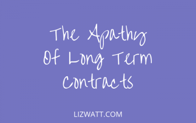 The Apathy Of Long Term Contracts