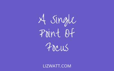 A Single Point Of Focus