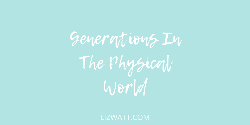 Generations In The Physical World
