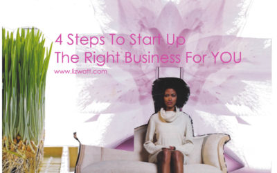 4 Steps To Start Up The Right Business For You